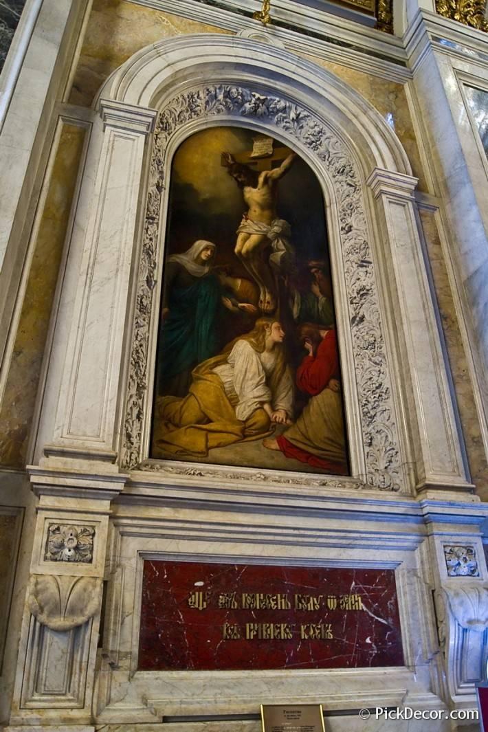 Потолки и декор Исаакиевского собора — фото 50