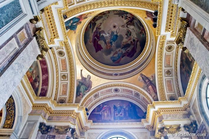 Потолки и декор Исаакиевского собора — фото 10