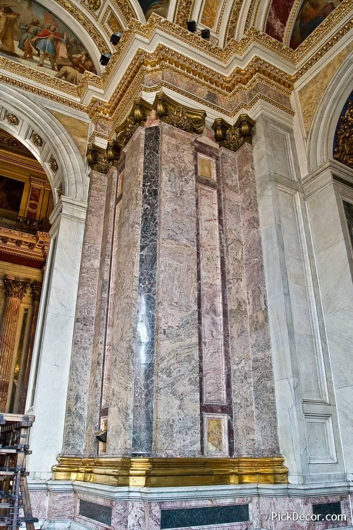 Потолки и декор Исаакиевского собора — фото 68