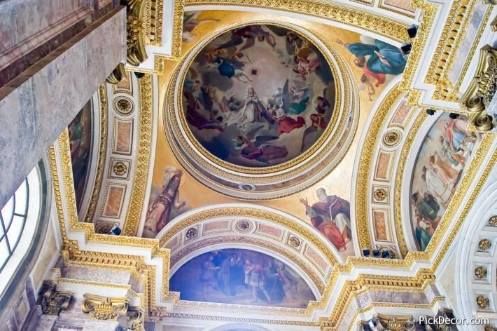 Потолки и декор Исаакиевского собора — фото 15