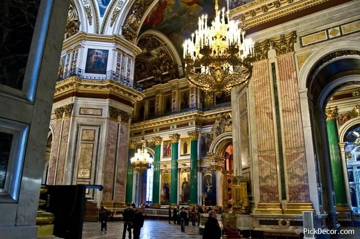 Потолки и декор Исаакиевского собора — фото 57