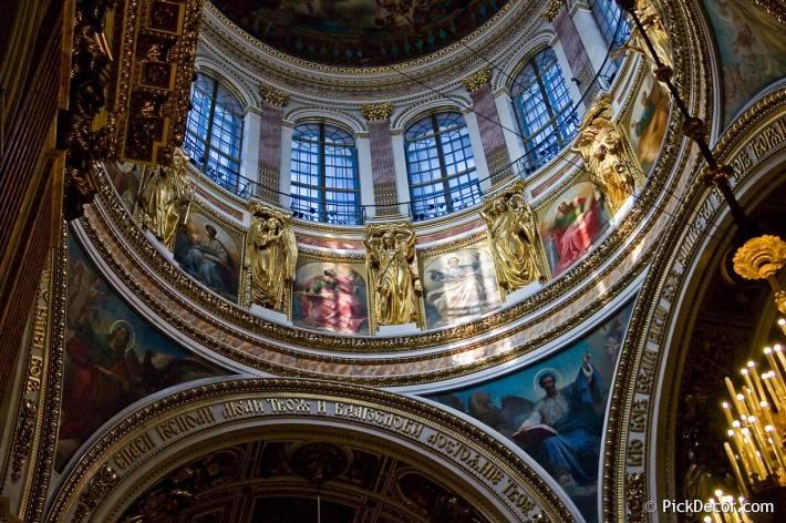 Потолки и декор Исаакиевского собора — фото 65