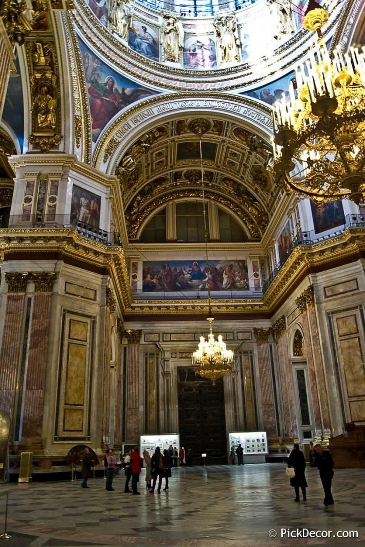 Потолки и декор Исаакиевского собора — фото 38