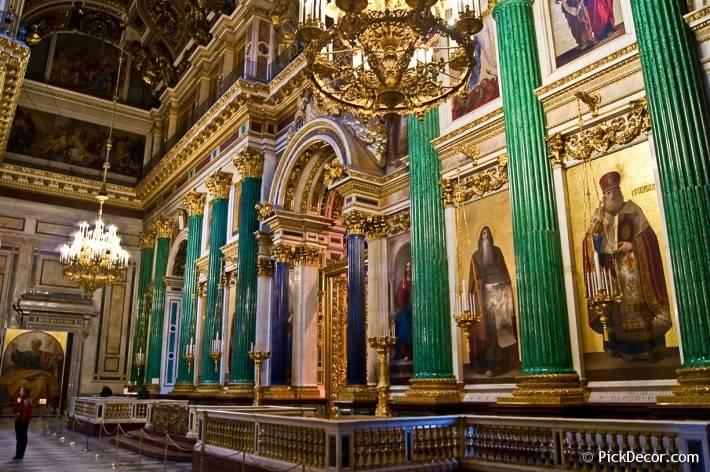 Потолки и декор Исаакиевского собора — фото 49