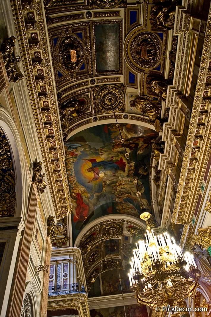 Потолки и декор Исаакиевского собора — фото 51