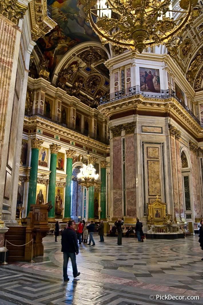 Потолки и декор Исаакиевского собора — фото 59