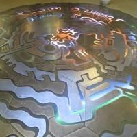 Металлический пол в ЦЕРН (CERN)