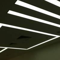 Дизайнерское освещение в деловом центре — фото 2