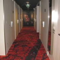 Ковровое покрытие в отеле Citizen M