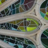 Витражи храма Святого Семейства в Барселоне — фото 2