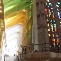 Потолок храма Святого Семейства в Барселоне — фото 10