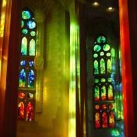 Витражи храма Святого Семейства в Барселоне — фото 5