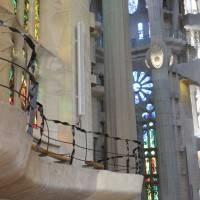 Потолок храма Святого Семейства в Барселоне — фото 11