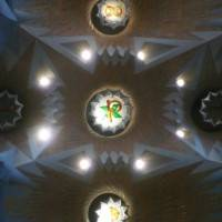 Потолок храма Святого Семейства в Барселоне — фото 15