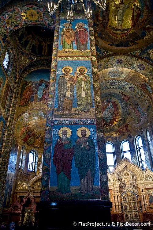 The Church of the Savior on Blood interiors – photo 103