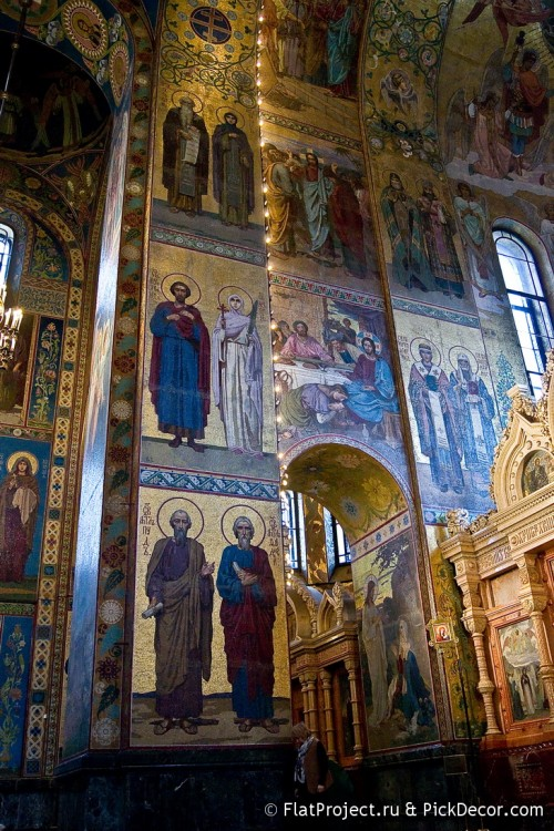 The Church of the Savior on Blood interiors – photo 34