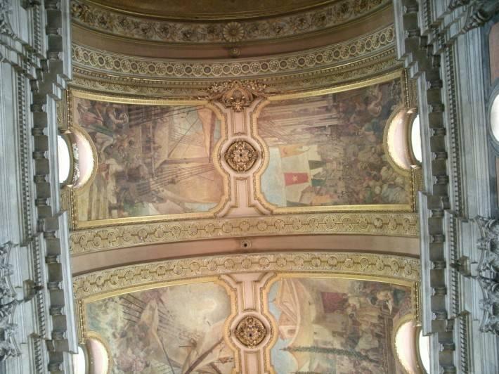 Потолок в Церкови Канделария в Рио-де-Жанейро — 3