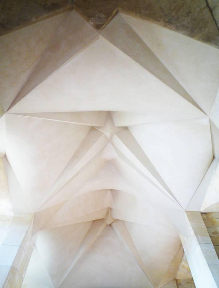 Потолок храма Святого Семейства в Барселоне — фото 17