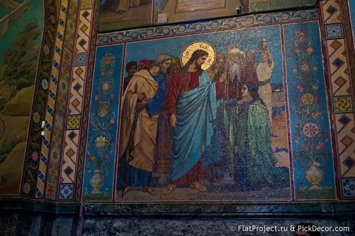 Потолки и декор храма Спас на Крови — фото 57