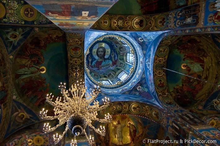 Потолки и декор храма Спас на Крови — фото 52