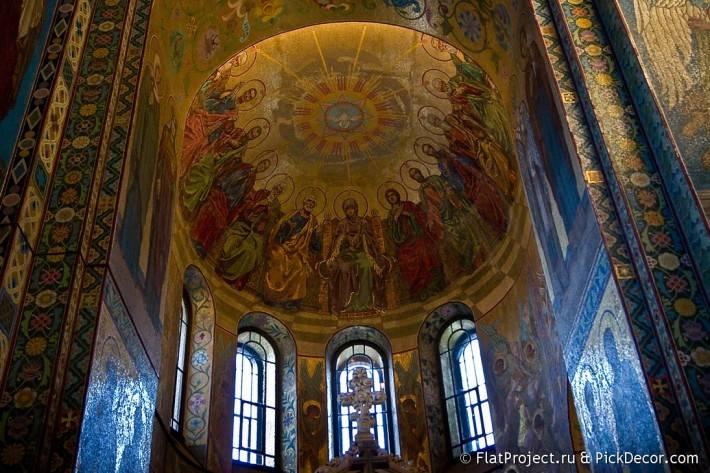 Потолки и декор храма Спас на Крови — фото 41