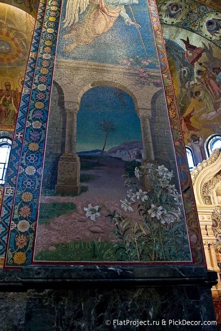Потолки и декор храма Спас на Крови — фото 10