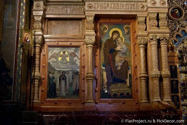 Потолки и декор храма Спас на Крови — фото 6