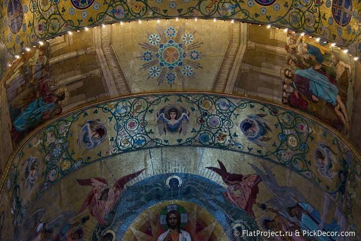 Потолки и декор храма Спас на Крови — фото 37