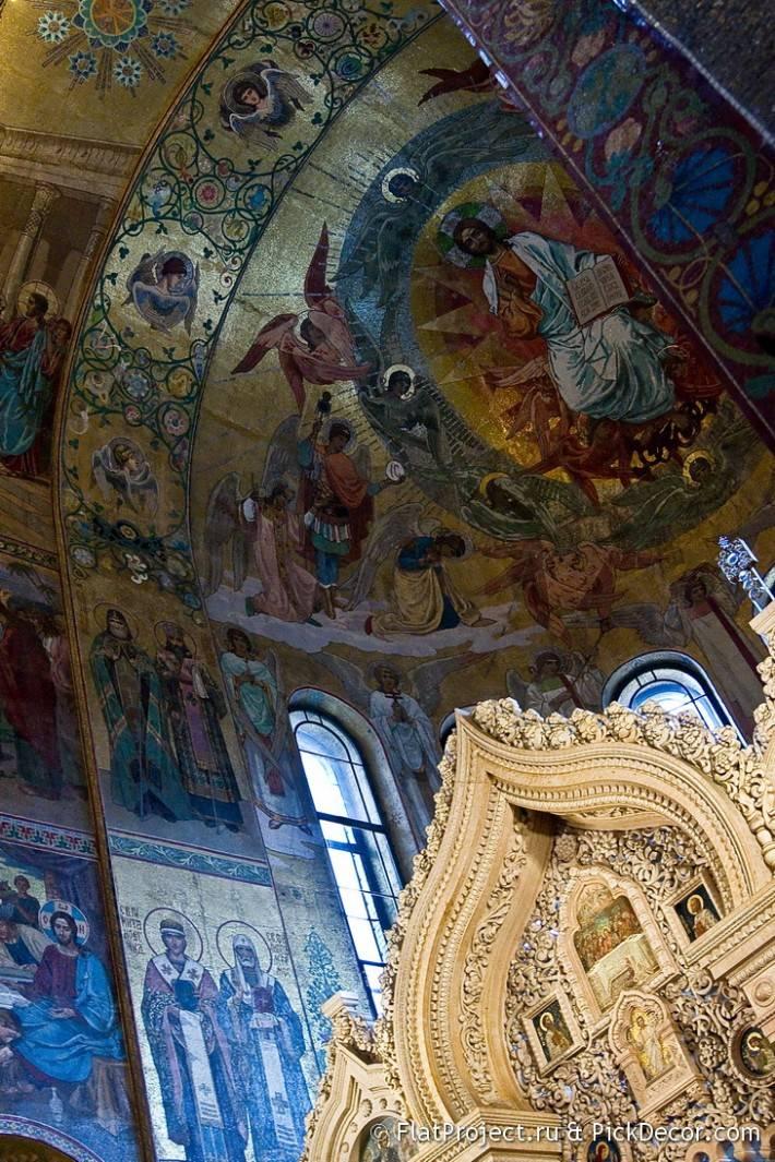 Потолки и декор храма Спас на Крови — фото 36