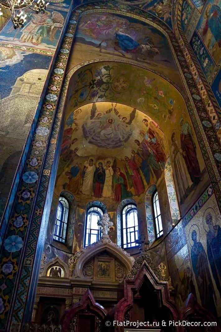 Потолки и декор храма Спас на Крови — фото 25