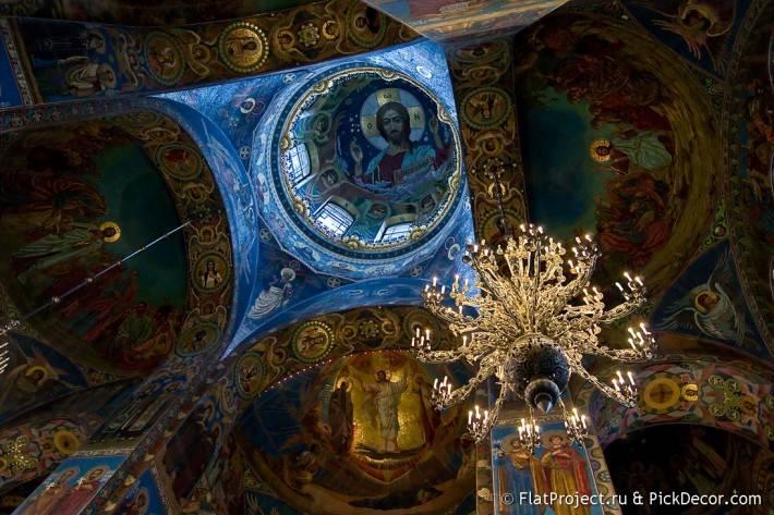 Потолки и декор храма Спас на Крови — фото 83