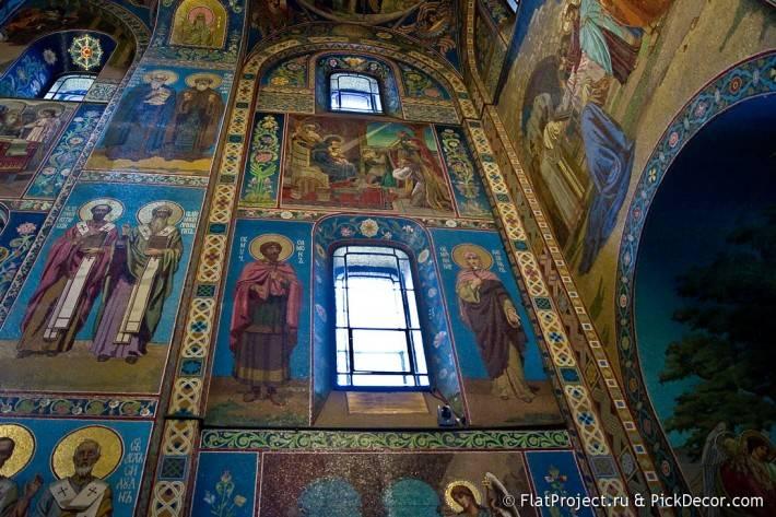 Потолки и декор храма Спас на Крови — фото 18