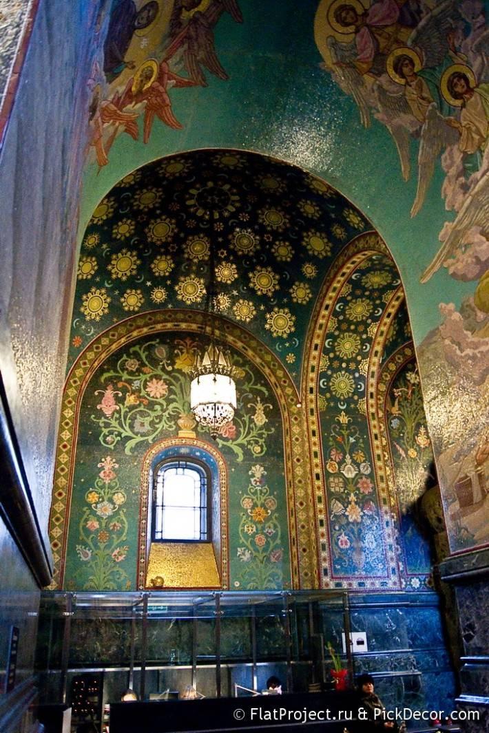 Потолки и декор храма Спас на Крови — фото 59