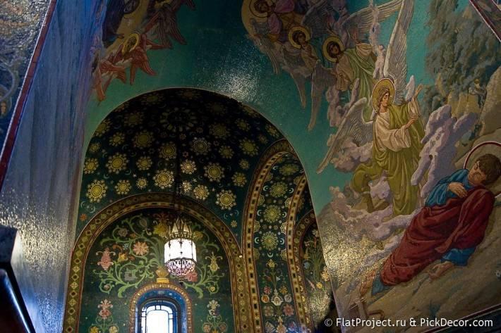 Потолки и декор храма Спас на Крови — фото 11