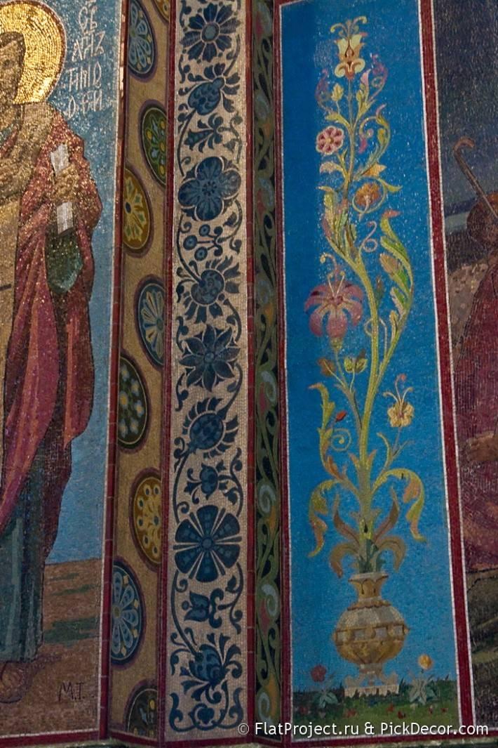 Мозаика в храме Спас на Крови — фото 3