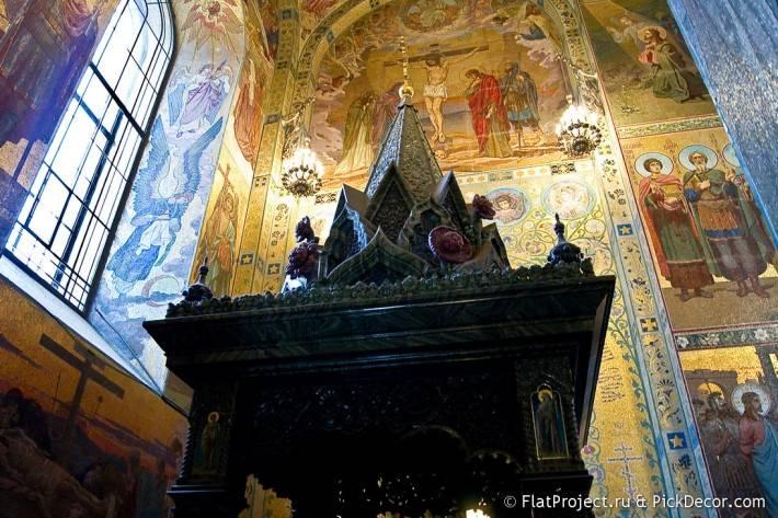 Потолки и декор храма Спас на Крови — фото 32