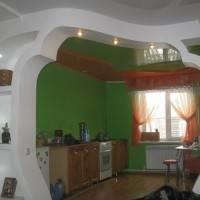 Арка и потолок из гипсокартона сложной формы