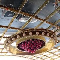 Зеркальный потолок на входе в Circus Circus