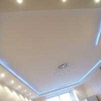 Потолок из гипрока от компании «Обнова» — 3