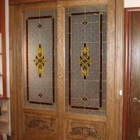 Витражная дверь от компании «Самеба» — 1