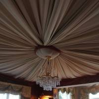 Потолок в бедуинском стиле в Grand Marine Court