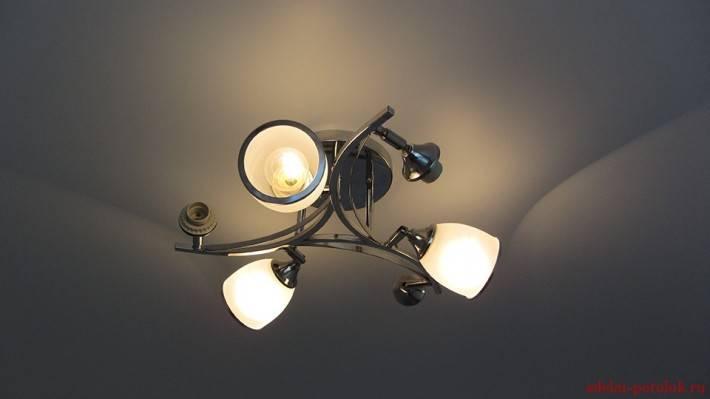 Сатиновый потолок от Stretch Ceilings