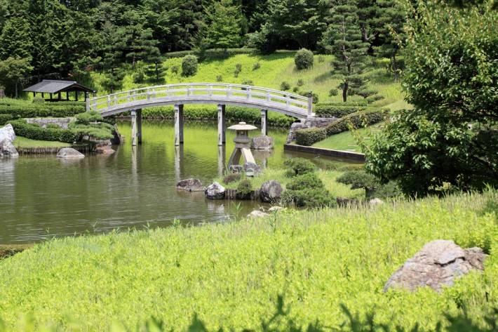Сад в японском стиле в Кагосиме — фото 3