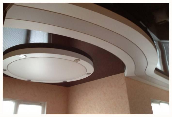 Натяжной потолок сложной формы от Zevs Group