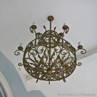 Кованый светильник в неорусском стиле