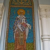 Мозаика во Владимирском соборе в Кронштадте — фото 2