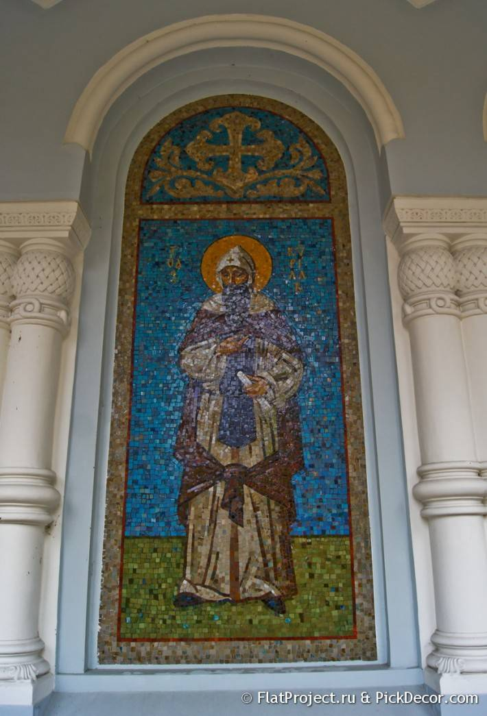 Мозаика во Владимирском соборе в Кронштадте