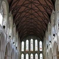 Деревянный потолок в Кафедральном соборе Рипон