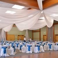 Crowne Plaza — потолок декорированный тканью — фото 4