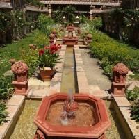 Сад отеля Jardins Secrets — фото 7
